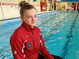 Marlins Swimming Club, Ballyshannon swimmer, Mona McSharry