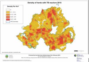 Bovine TB - Heat Map