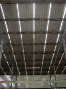 Vented roof