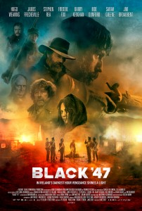 Black 47 will screen this week in many Irish cinemas including Donegal