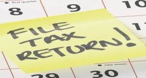 Tax Return - Date