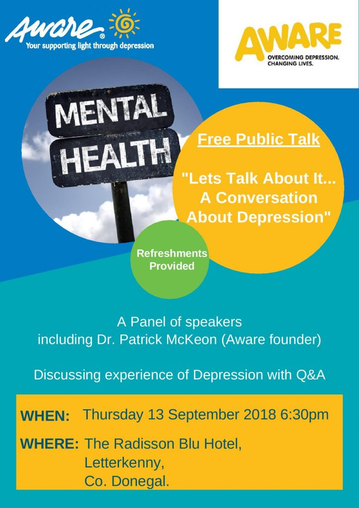 Use 5 - Aware Mental Health Event Poster