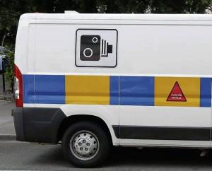 A GoSafe speed camera van.