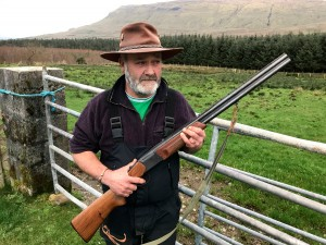 Threats: Andy 'The Bull' McSharry says his sheep 'are as good as china' and wants to protect them from dogs. Photo: Niall Delaney, Ocean FM