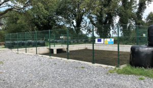 Slurry lagoons should be fenced off safely
