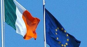 Ireland And EU Flags_large