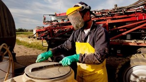 Providing personal protective equipment and clothing is part of the farm safety code of practice.