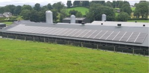 50kWp Local Power Ltd solar PV system install on farm in Monaghan