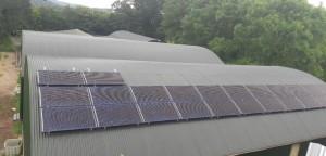 6kWp Local Power Ltd solar PV install on a drystock farm in Cork