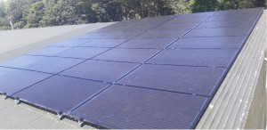 9kWp Local Power Ltd solar PV install on a dairy farm in Wexford
