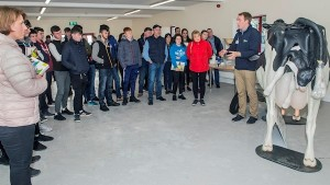 College lecturer James Daunt addresses students at a Teagasc careers open day in Clonakilty Agricultural College, Co Cork. Pic. O'Gorman Photography..jpg
