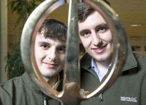 Limerick brothers Nick and Jack Cotter have been awarded the Engineers Ireland Innovative Student Engineer of the Year Award 2019, sponsored by Siemens. The award, now in its 21st year,  is an annual competition that focuses on showcasing innovation excellence amongst engineering third-level students across Ireland.  The LIT and UL students were awarded top honours for their innovative lamb handling system that facilitates the quick, safe, easy and accurate administration of vaccines, doses and drenches to lambs from 3 weeks of age.  Pic Peter Houlihan