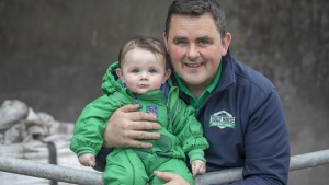 Andrew McShea and son