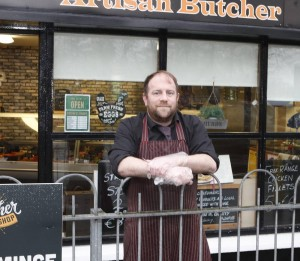 Artisan Butcher Brian Treacy, Ardnacrusha, Co Clare. Pic. Liam Burke Burke-Press 22